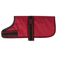 14005 An 18 inch Red Padded Nylon Dog Coat by Animate