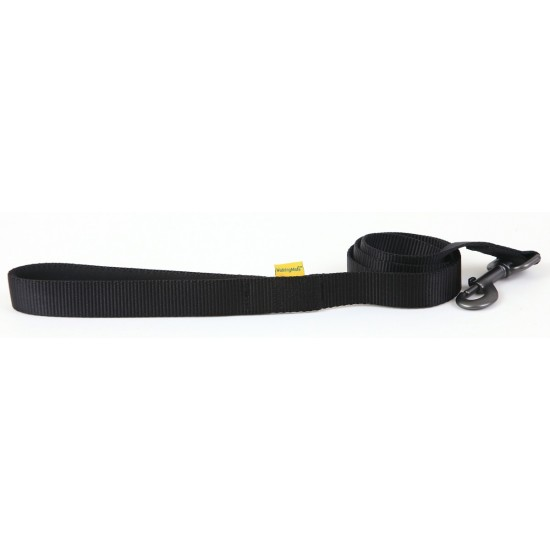 "30643 Black Padded Handle Lead 25mm x 40"" for dogs"