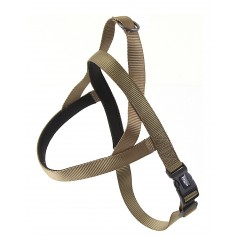 "30721 Olive Neoprene Padded Harness 1"" x 24"" - 32"" for dogs"