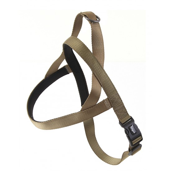 "30722 Olive Neoprene Padded Harness 1"" x 32"" - 39"" for dogs"