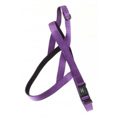 "30730 Purple Neoprene Padded Harness 3/4"" x 18"" - 24"" for dogs"