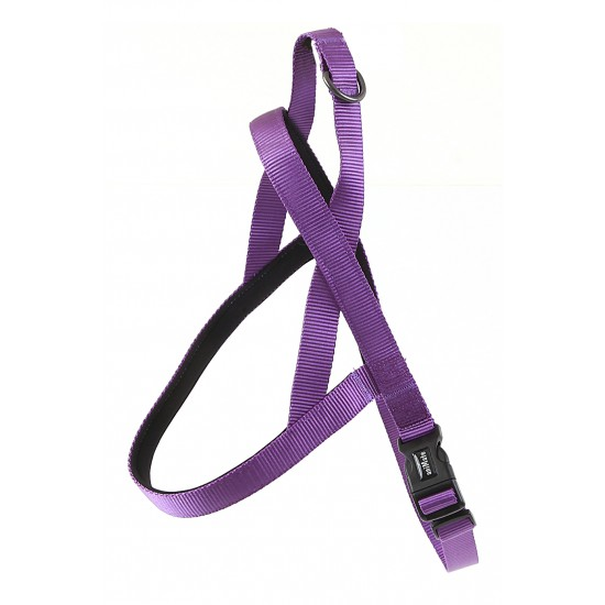 "30732 Purple Neoprene Padded Harness 1"" x 32"" - 39"" for dogs"